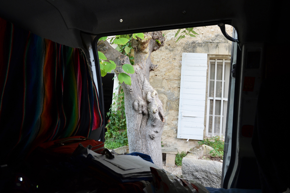 12:quelque part vers Arles:20x30